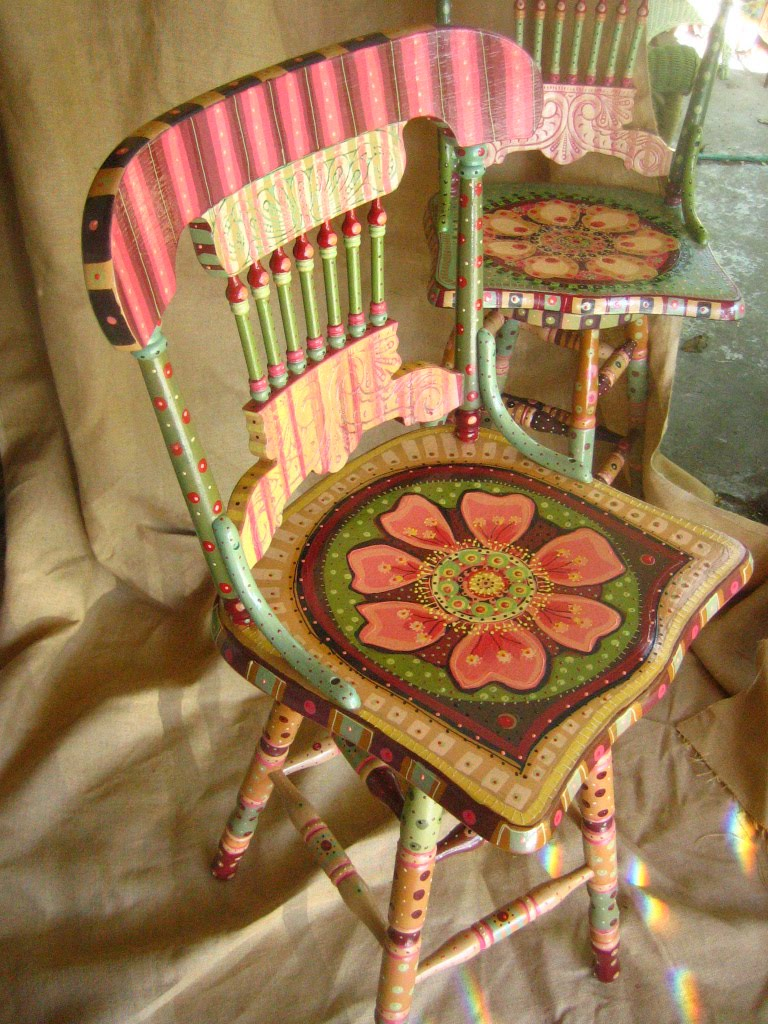 Painting It Painted Chairs