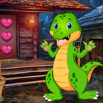 Play Games4King Cute Crocodile…
