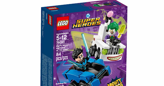 LEGO SET DATABASE LEGO 76094 Mighty Micros: Supergirl vs. Brainiac