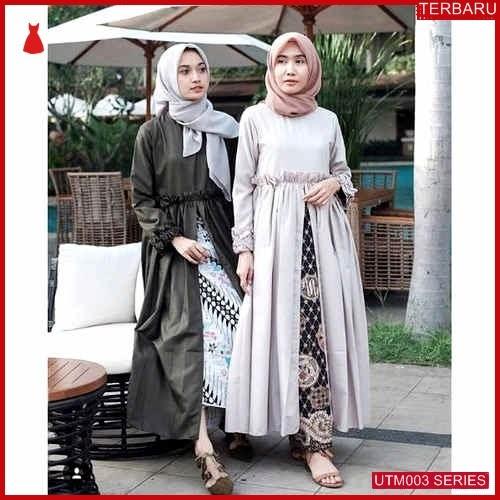 UTM003F93 Baju Faulina Muslim Dress UTM003F93 003 | Terbaru BMGShop