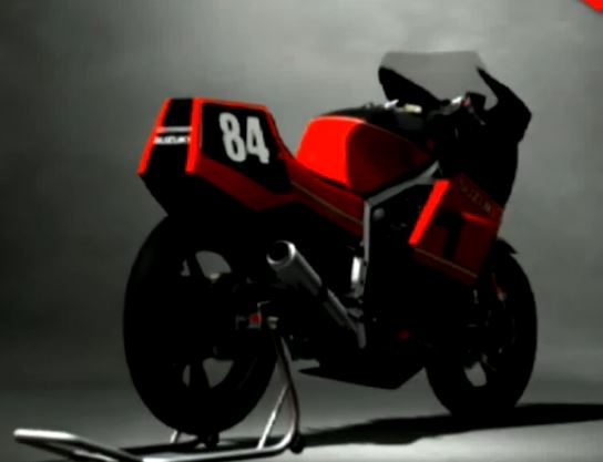 Suzuki GSXR400 RACING MODIFY '84