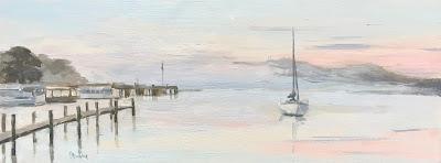 #139 'Mist on Lake Windermere' 6×15.5″