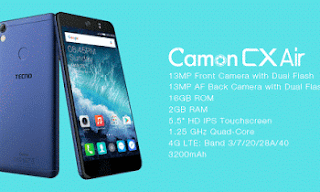 Tecno Camon CX Air Picture