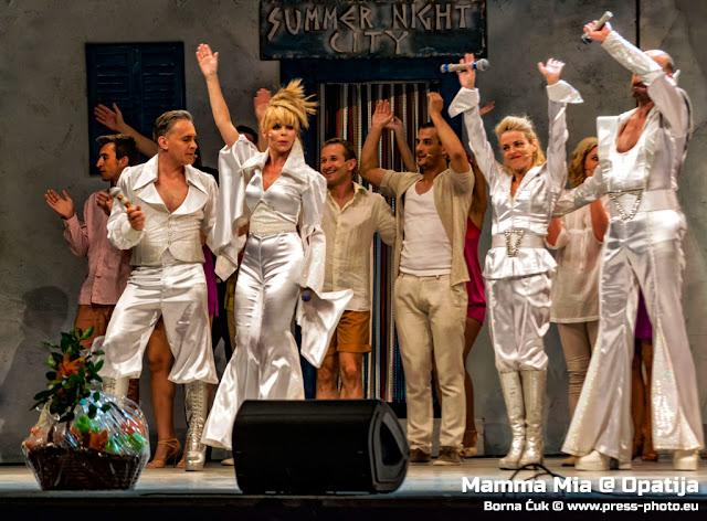 Mamma Mia, mjuzikl Mamma Mia, Mamma Mia Opatija, Kazalište Komedija, Abba, Festival Opatija, RetrOpatija