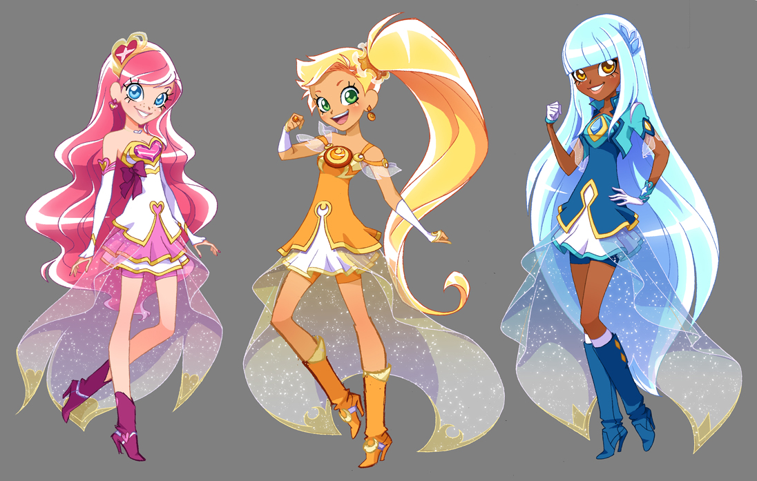 Lolirock Transformation Coloring Pages