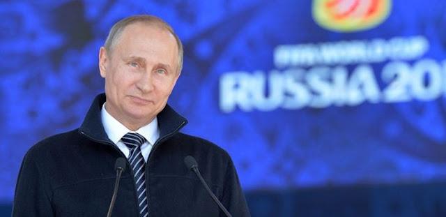 Seperti Adolf Hitler, Vladimir Putin Dituding Manfaatkan Piala Dunia 2018