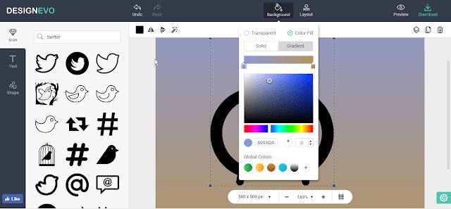 كيف تقوم بعمل لوجو Logo إحترافي بدون برامج
