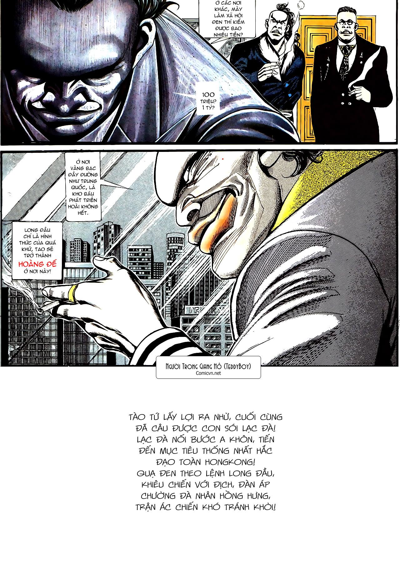 Người Trong Giang Hồ chapter 157: thiên đường địa ngục trang 30