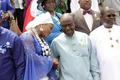h - Minister Of Transport Chbuike Amaechi And Wife Absent At Rivers state 50th year thanksgiving service