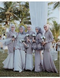 Ini dia 6 gaya Mermaid Dress untuk para hijabers kekinian