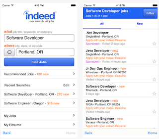 Indeed's Mobile Job Search Apps   Mobile Job Search Apps
