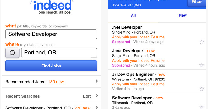 indeeds mobile job search apps mobile job search apps