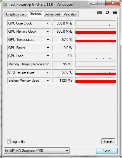 Sensor Kartu Grafis GPU-Z