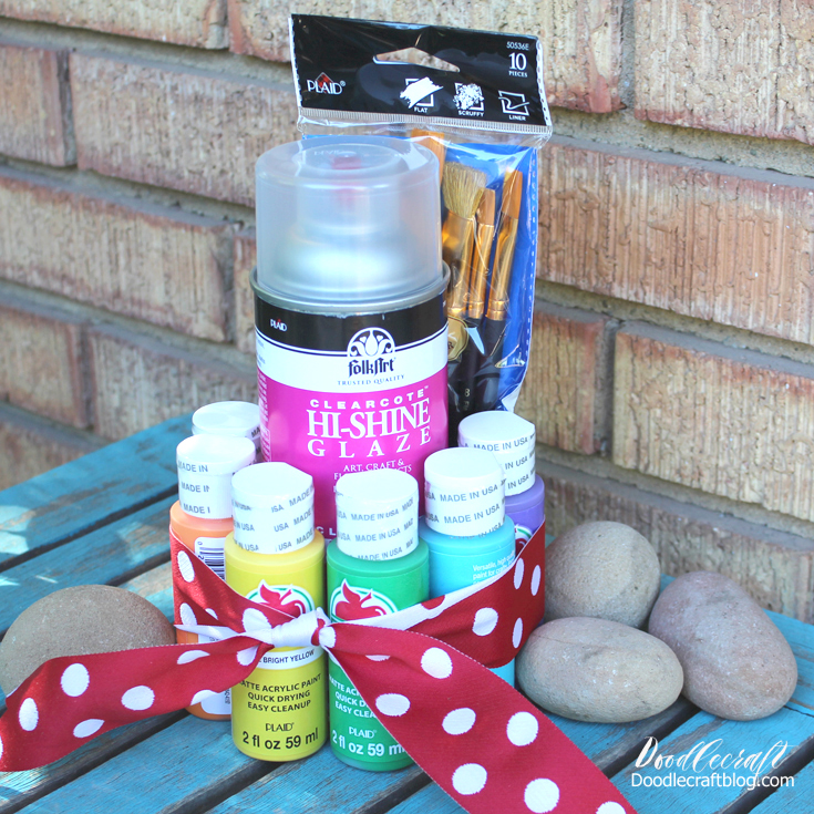 Rock Painting Supplies And Ideas Perfect For The Beginning Rock Painter