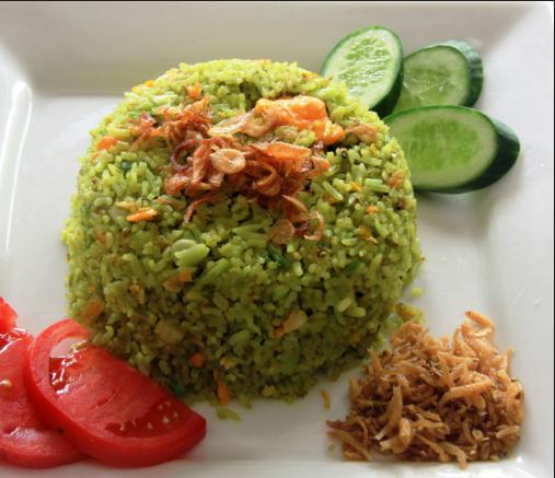 Resep Nasi Goreng Cabai Hijau dan Kencur