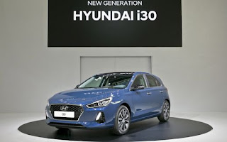 Hyundai i30 2016-2017 Dimensioni e Misure bagagliaio