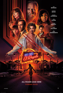 Bad Times At The El Royale 2018 Dual Audio ORG Hindi 480p BluRay – 400MB