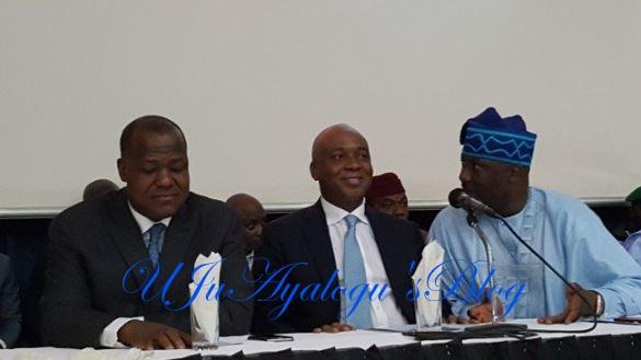 Saraki Faults Buhari's Anti-corruption War During Dino Melaye's Book Launch
