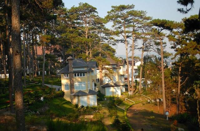 Những khu villa Đà Lạt nguyên căn sang trọng