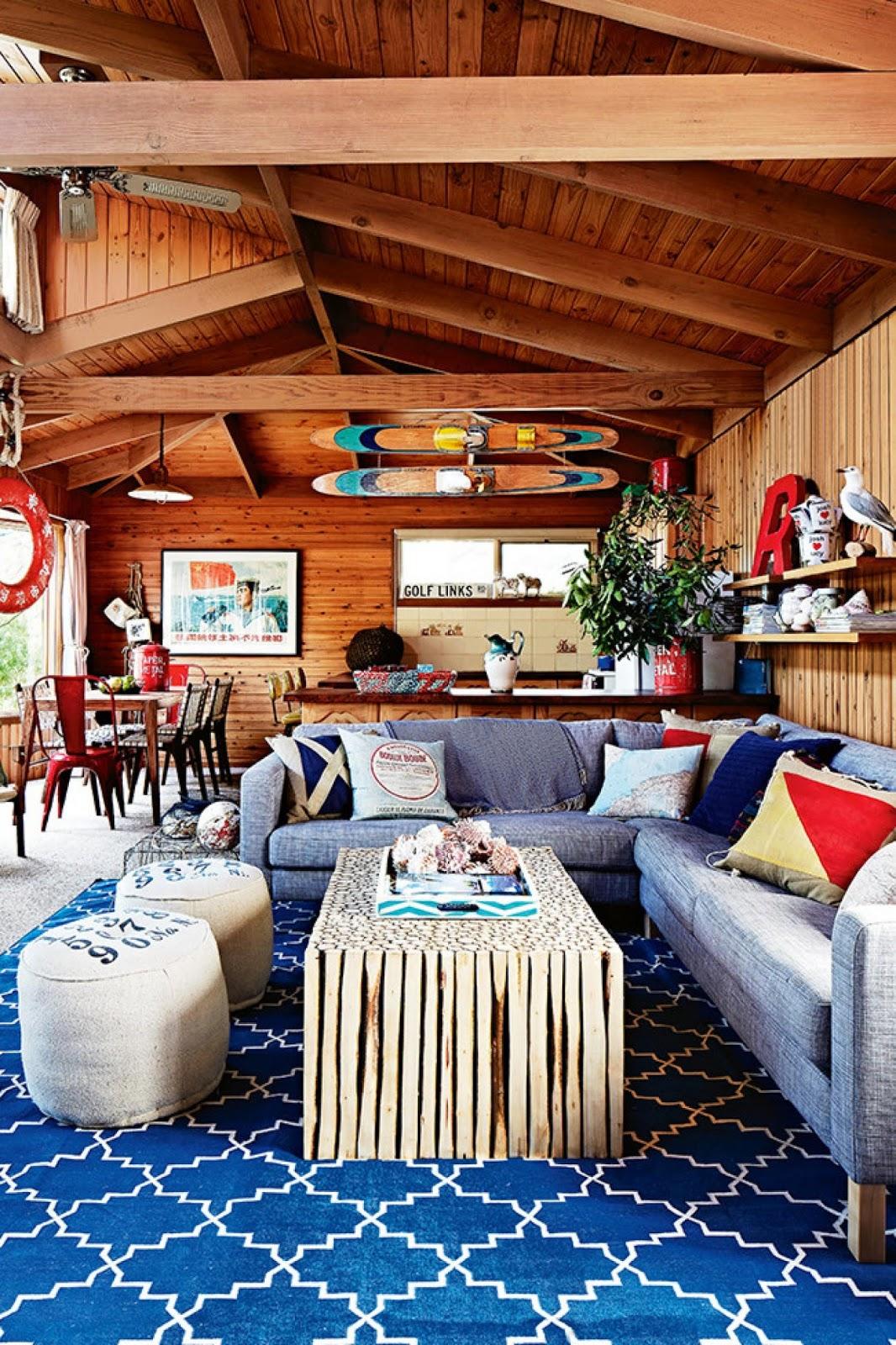 coastal vintage style beach house rental