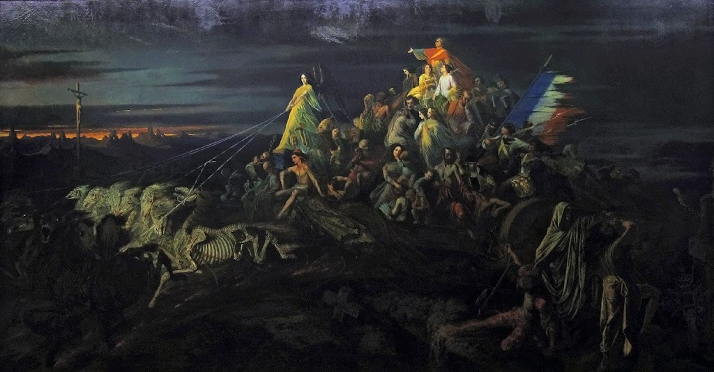 """""""Le Char de la Mort"""" Jean Théophile Schuler (1851)"""