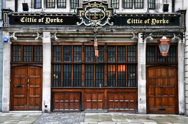Bar The Cittie of Yorke em Londres