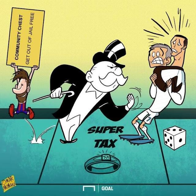 Messi enseña a Cristiano Ronaldo y Mourinho como resolver sus problemas con Hacienda