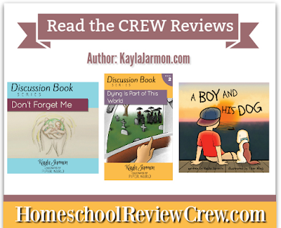 http://schoolhousereviewcrew.com/discussion-book-series-and-a-boy-and-his-dog-kayla-jarmon-reviews/