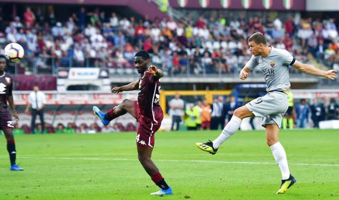 Dzeko decide Torino-Roma all'89' di gioco | Calcio Serie A.