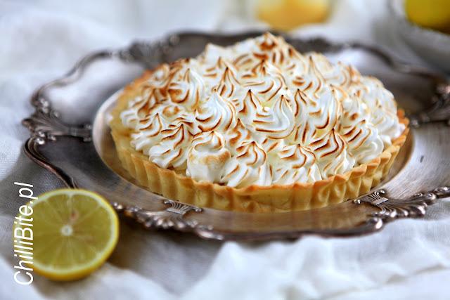 tarta cytrynowa lemon curd z beza włoską