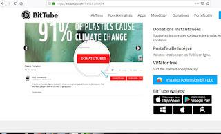 اضافة bitTube لربح عملة TUBE الموجودفي منصة Bittrex  و Livecoin  و Upbit