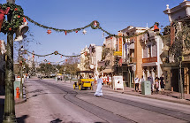 Disneyland Christmas 1957
