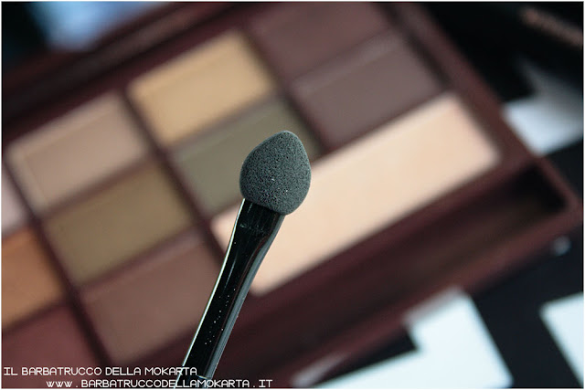 golden Bar pennello makeup revolution palette choccolate