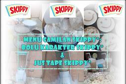 Menu Camilan Skippy®: Bolu Karakter Skippy® dan Jus Tape Skippy®