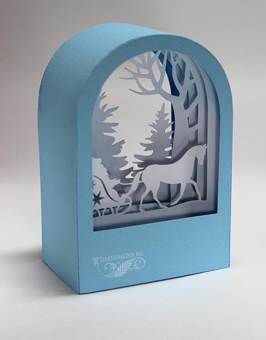 открытки туннели шаблоны зима том, что