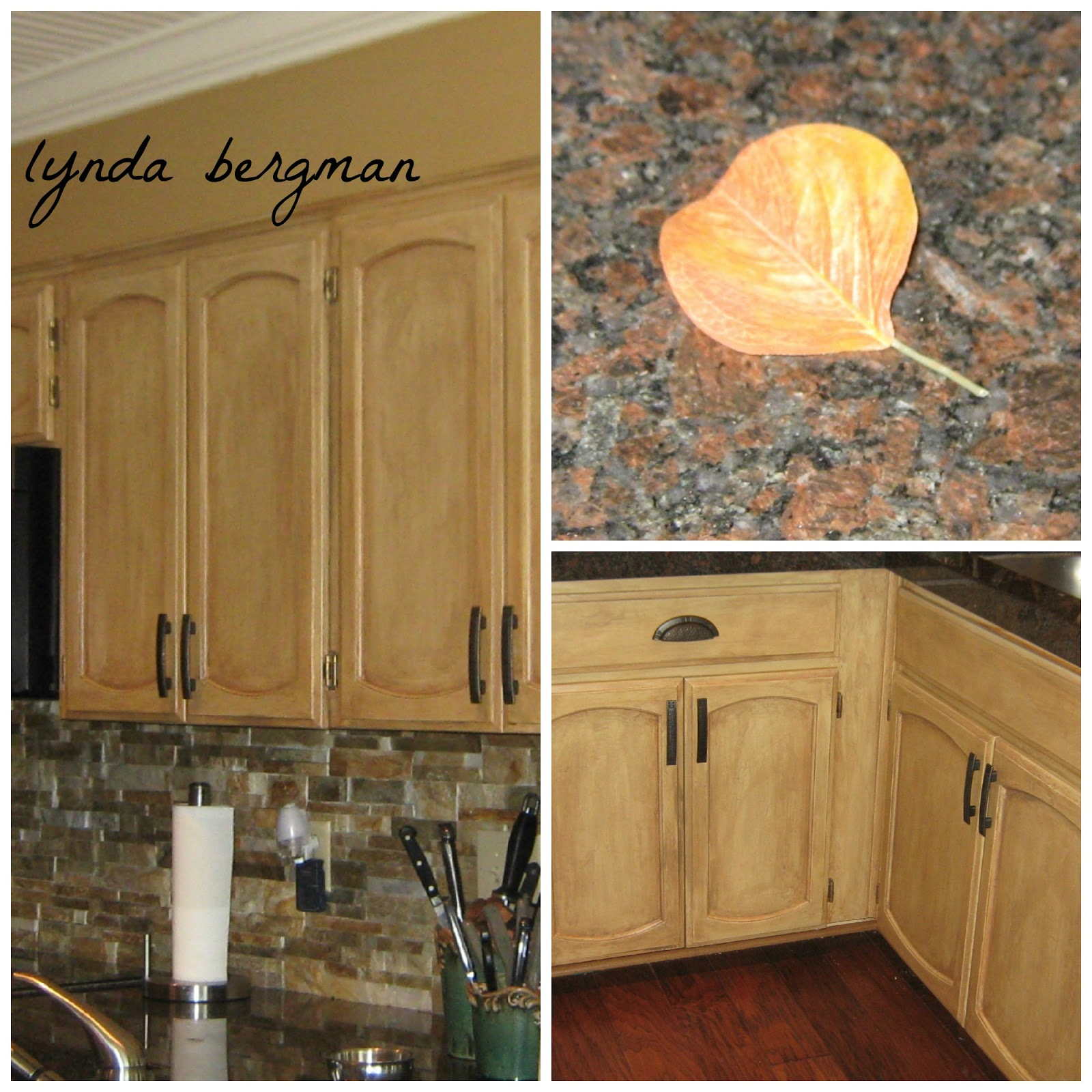 Distressed Finish Kitchen Cabinets
