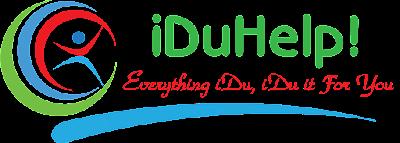 Logo Iduhelp Raharja by Yudi Prastiawan