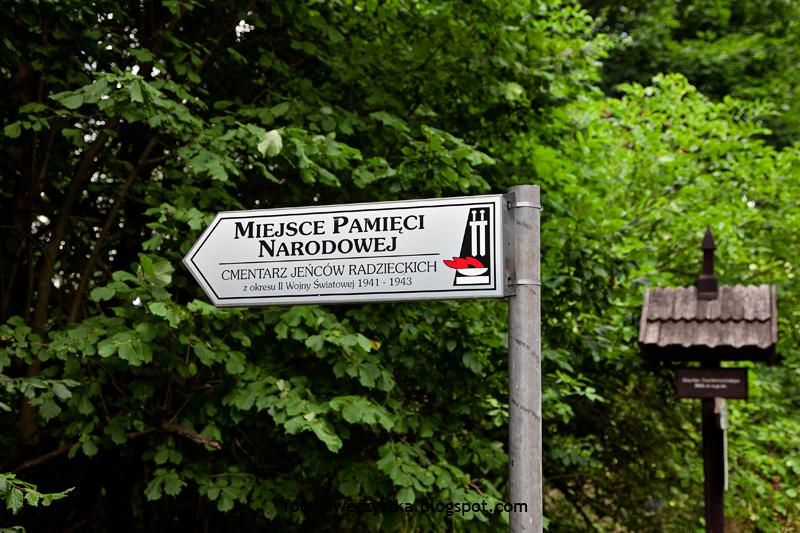 Święty Krzyż,świętokrzyskie,Świętokrzyski Park Narodowy,Bielnik, cmentarz jeńców radzieckich