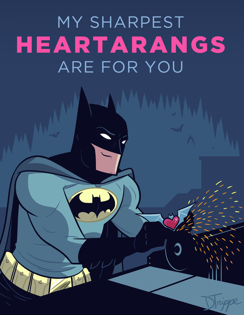 Batman Valentine