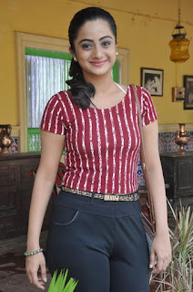 Actress Namitha Pramod Stills on talabbayi sets  0012.jpg