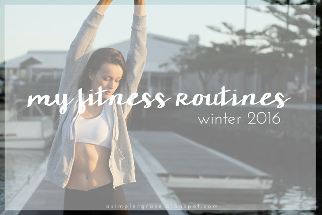 The fitness programs I'm doing to tone up this winter!