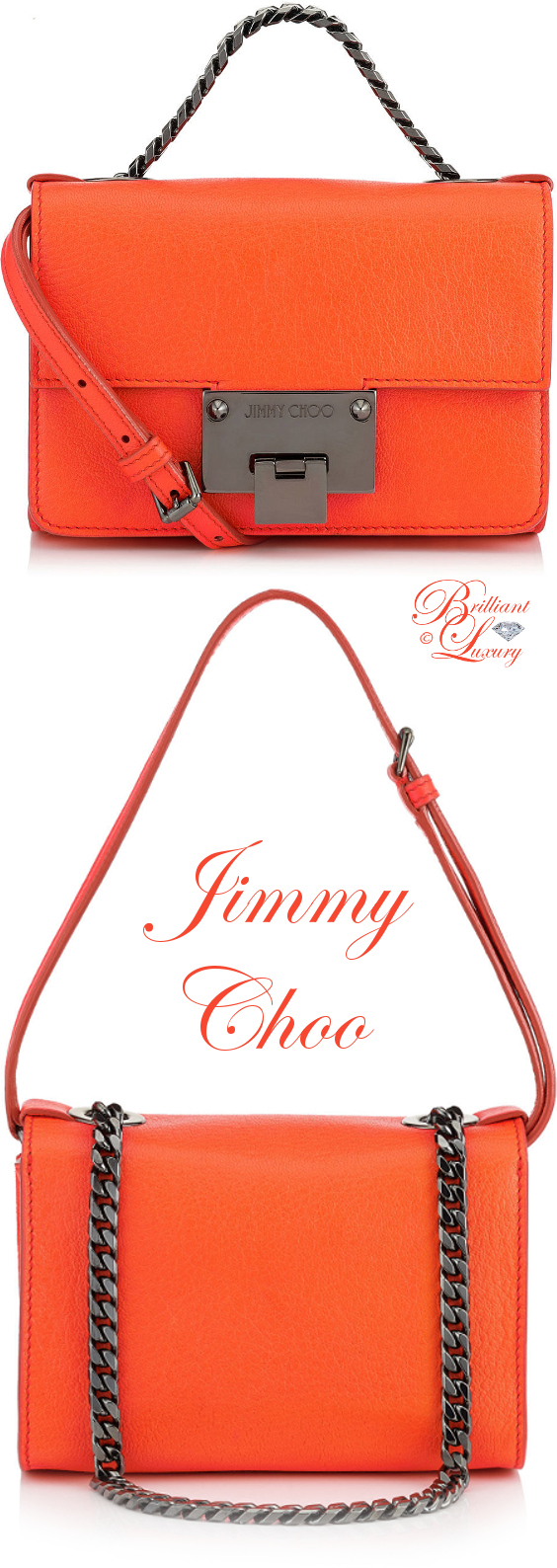 Brilliant Luxury ♦ Jimmy Choo Rebel Soft Mini Bag