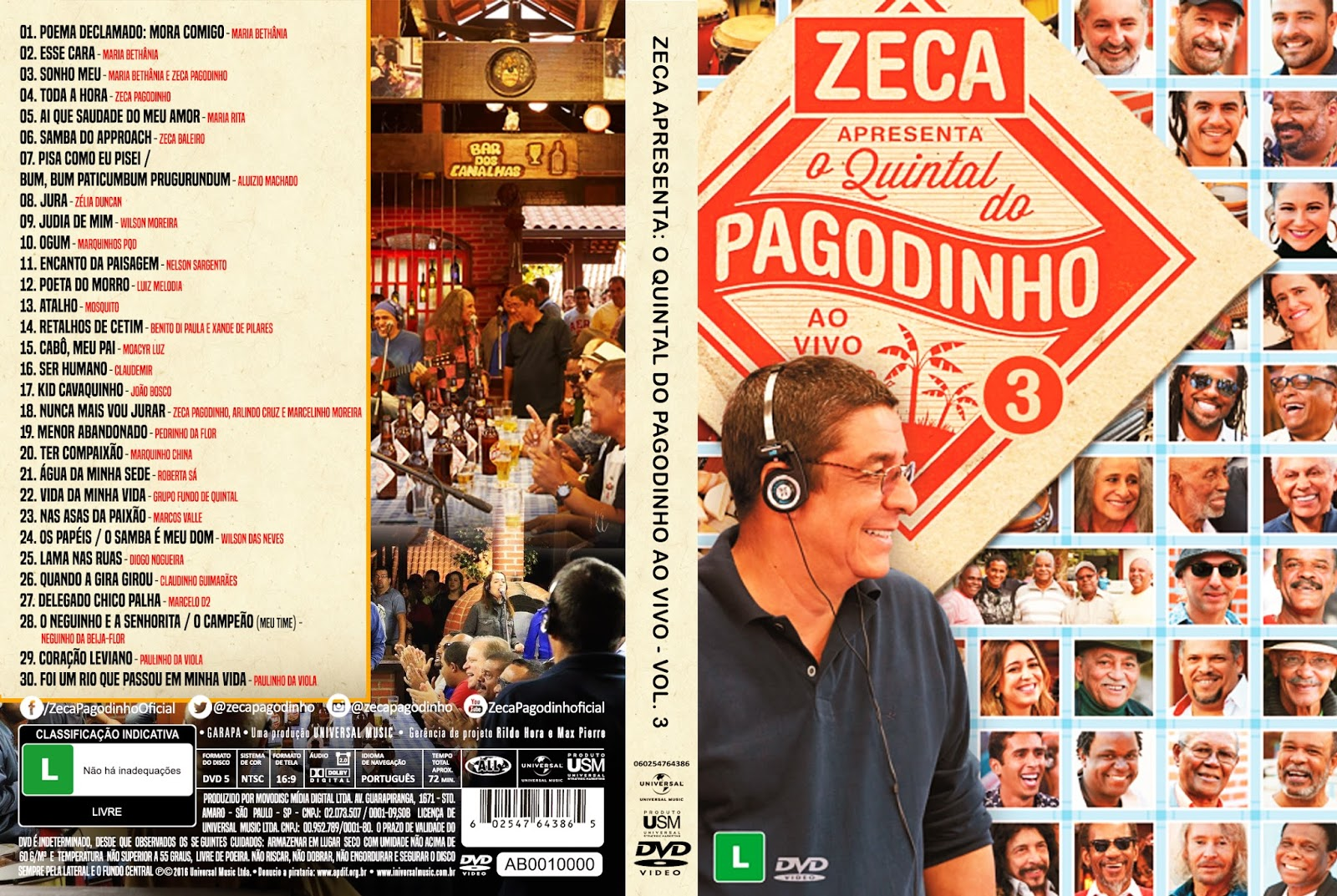 Download Quintal do Pagodinho ao Vivo Vol.3 DVDRip Download Quintal do Pagodinho ao Vivo Vol.3 DVDRip 2016 Quintal 2Bdo 2BPagodinho 2Bao 2BVivo 2BVol