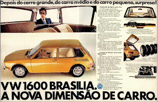 propaganda  VW 1600 - Brasilia - 1973, Volks Brasilia 73, propaganda Volkswagen - 1973, vw anos 70, carros Volkswagen década de 70, anos 70; carro antigo Volks, década de 70, Oswaldo Hernandez,