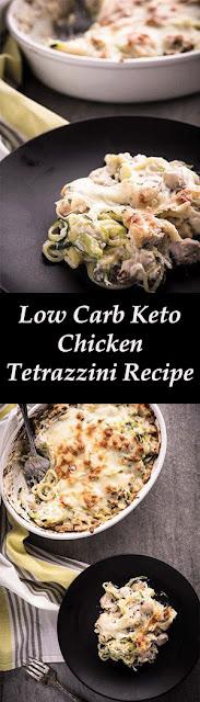 Low Carb Keto Chicken Tetrazzini Recipe