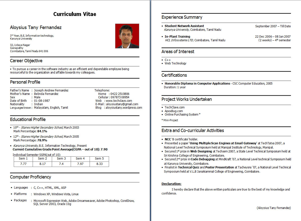 best resume for electrical engineer fresher best mechanical