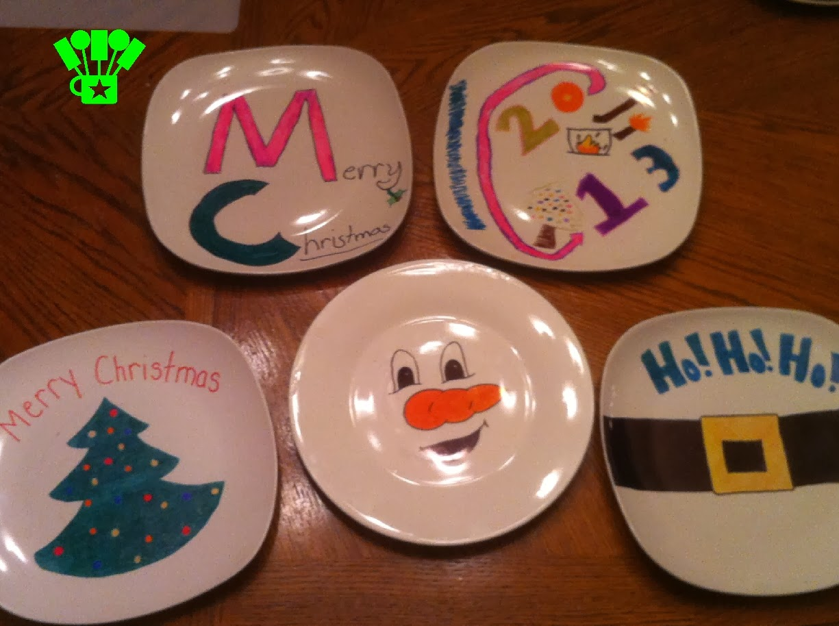 Christmas Plate Cookie Gifts | Kandy Kreations
