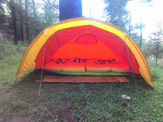 Tenda Camping Dome