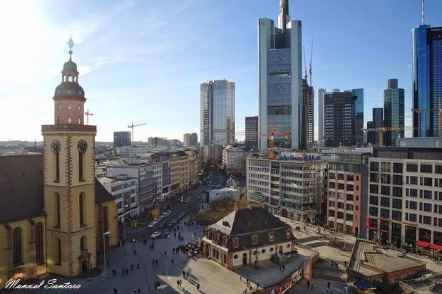 Francoforte, vista dal Mab Zeil