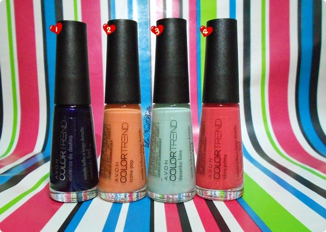 Esmaltes Color Trend Colecao Pop Art Da Avon Blog Belle Almeida
